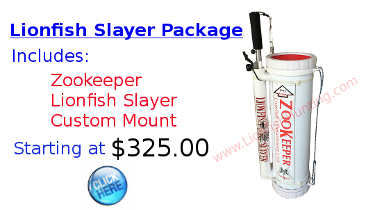 Lionfish Slayer Zookeeper Package