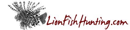Lionfish Hunting :: Online store for lionfish hunting equipment such as spears and bags
