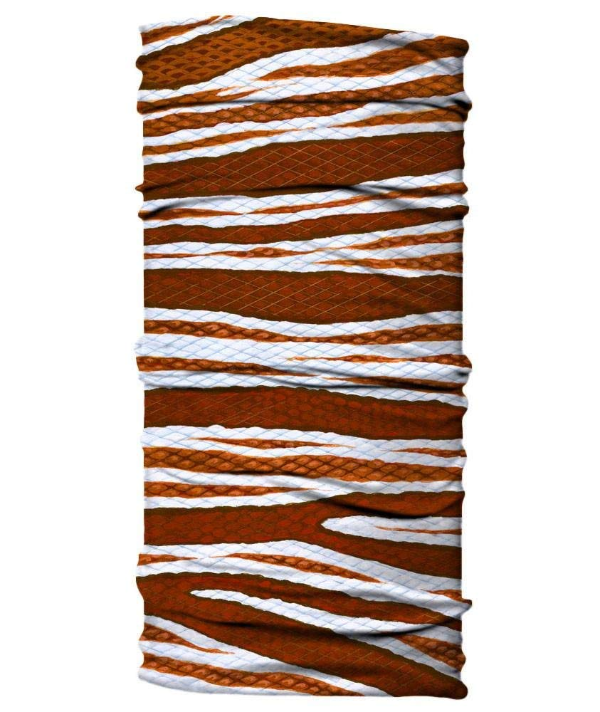 Lionfish print neck buff/gaitor sun protection