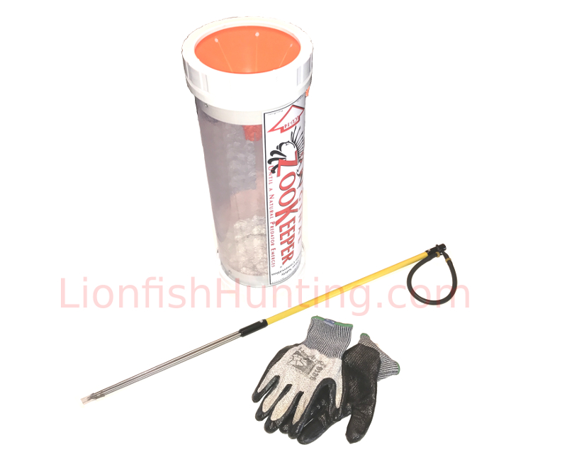 Paralyzer Polespear Zookeeper Lionfish Package