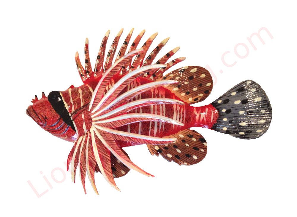 "12 "" Lionfish Wall Mount"
