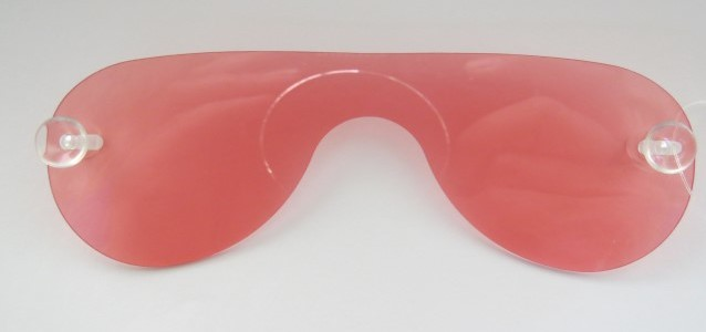 Removeable red lens for d