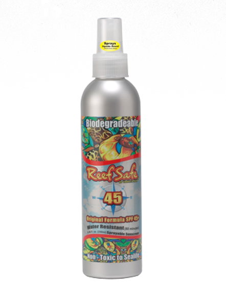 Reef Safe SPF 45 Spray on